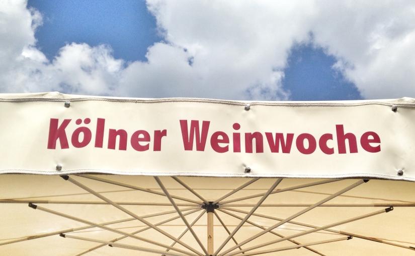 Alte Freunde, charmante Winzer und die Domina // Weinwoche inKöln