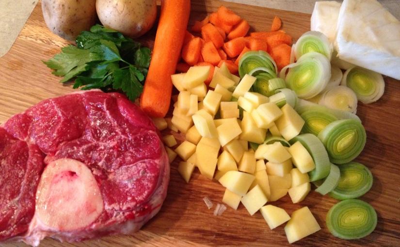 Meine Suppenküche (3): OmasGerstensuppe