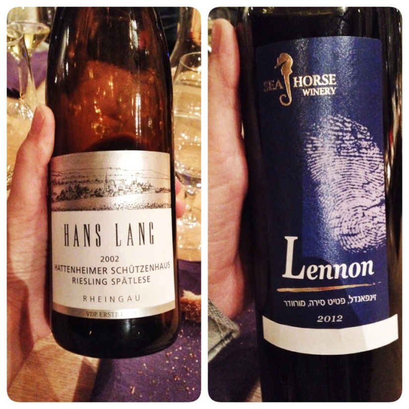Twin wineries // Germany meets Israel