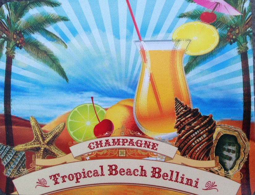 Tropical Beach Bellini // Champagner Cocktails (2/3)