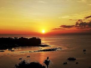 Indonesien: Sonnenuntergang