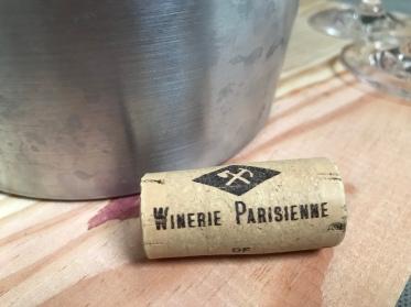 Das Logo der Urban Winery.