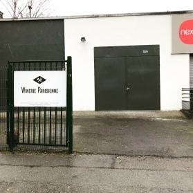 Unscheinbar: Der Eingang in die Produktionshalle.