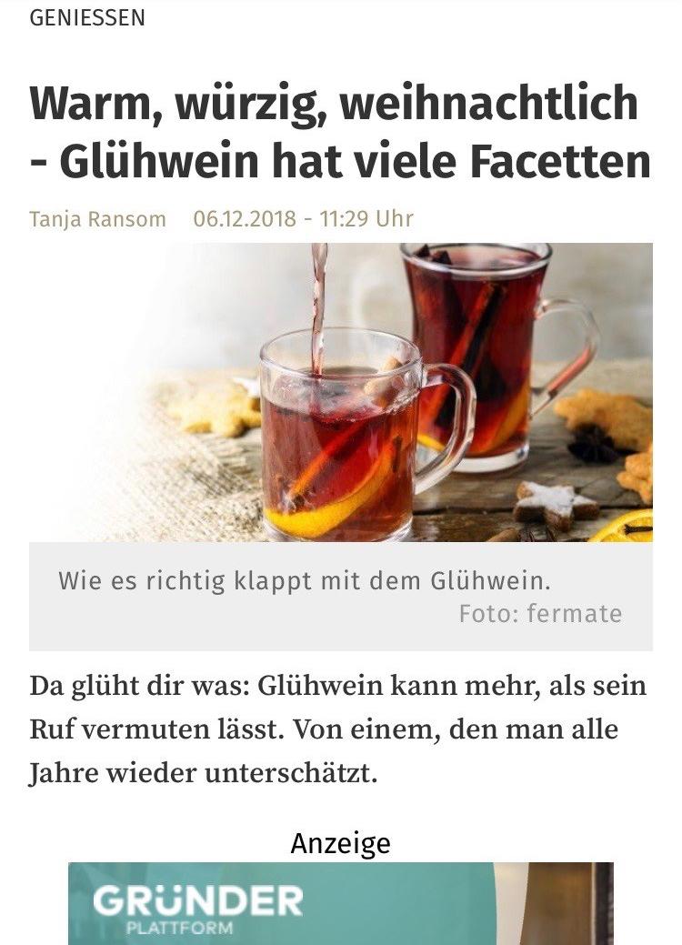 12/2018 Rezept nrz.de/ Neue Ruhr Zeitung