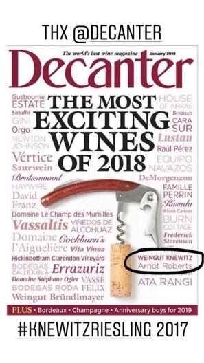 Decanter Ausgabe Januar 2019