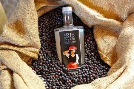 Iris Dry Gin.