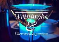 Weinprobe & Überraschungsmenu im Alten Eishaus Gießen.