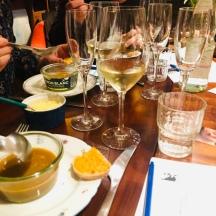 Bretonische Fischsuppe zum Loire Chardonnay
