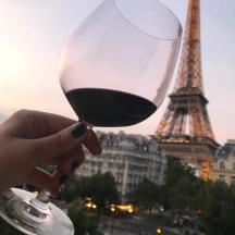 Winterliche Rotweinprobe