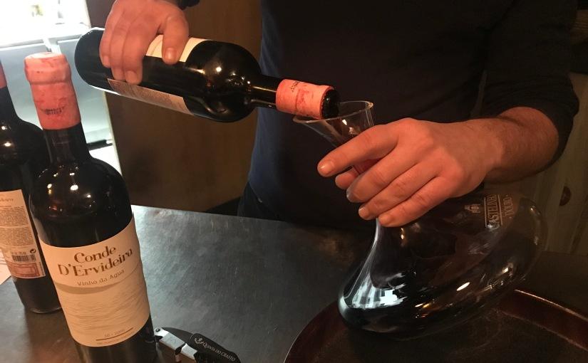 Nachlese: Novos Vinhos in der SaudadeWeinbar