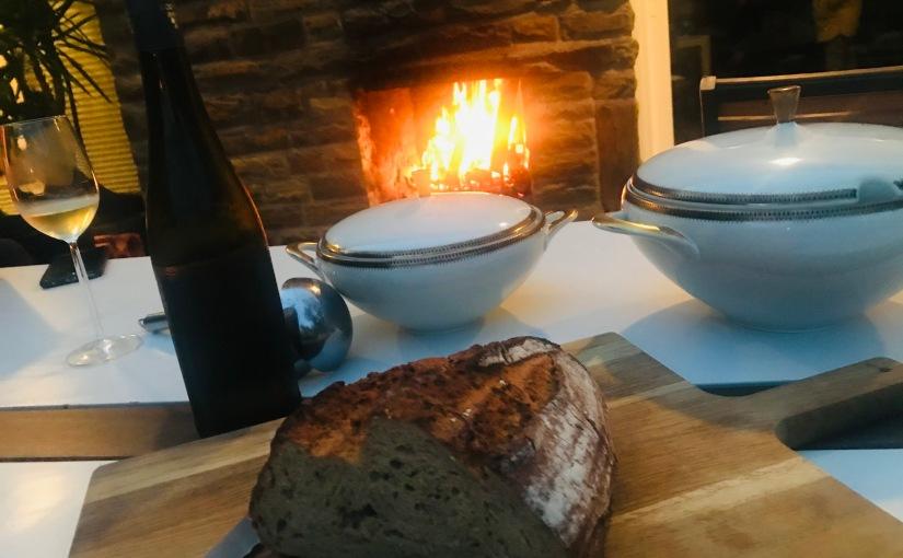 Meine Suppenschüssel (2): Käse-Lauch-Suppe mitEstragon