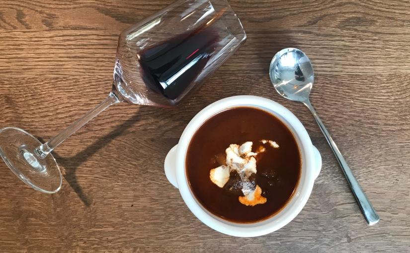Meine Suppenschüssel (1): Gulaschsuppe mitPort