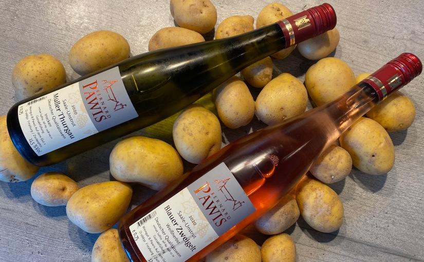 Vinotarischer Freitag: Weiß und Rosé zu ThüringerKlößen