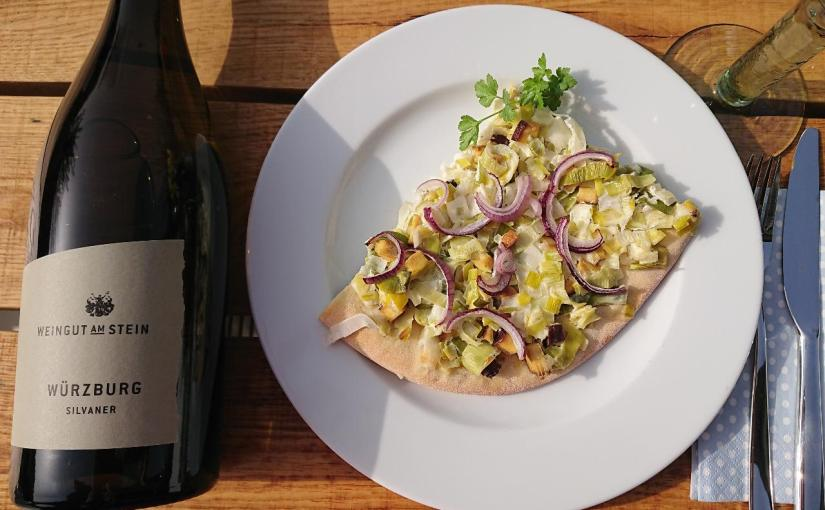 Vinotarischer Freitag: Silvaner zum vegetarischenLauchblootz